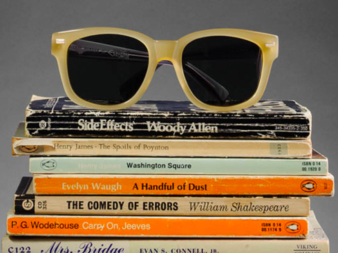 Number 2 pencil-themed sunglasses from WarbyParker