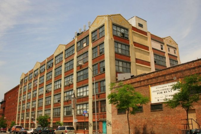 Eberhard Faber Pencil Factory in Brooklyn