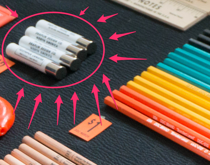 Could those be DDC bullet pencils?