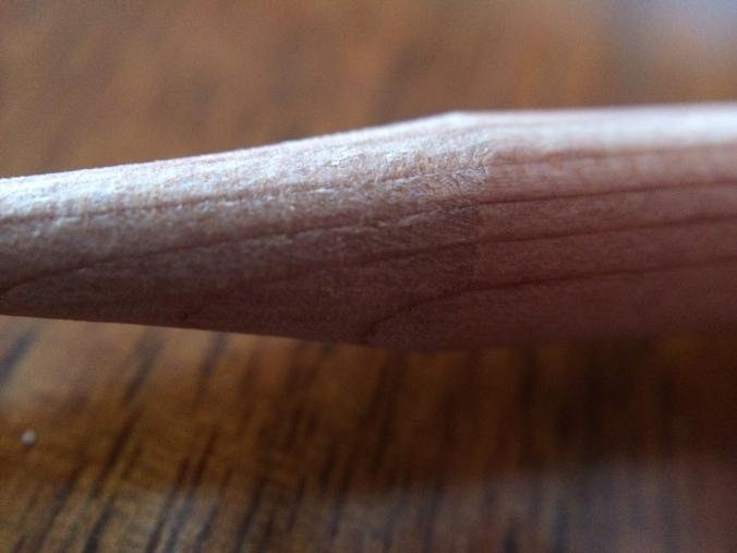 midori-brass-bullet-pencil-wood-closeup