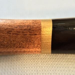 Closeup of the Koh-I-Noor Triograph barrel.