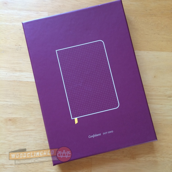 The Baron Fig Notebook comes in a beautiful, well-fitting box.