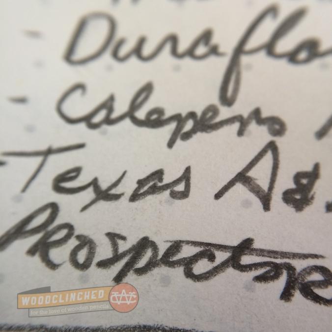 Baron Fig Confidant notebook handwriting closeup