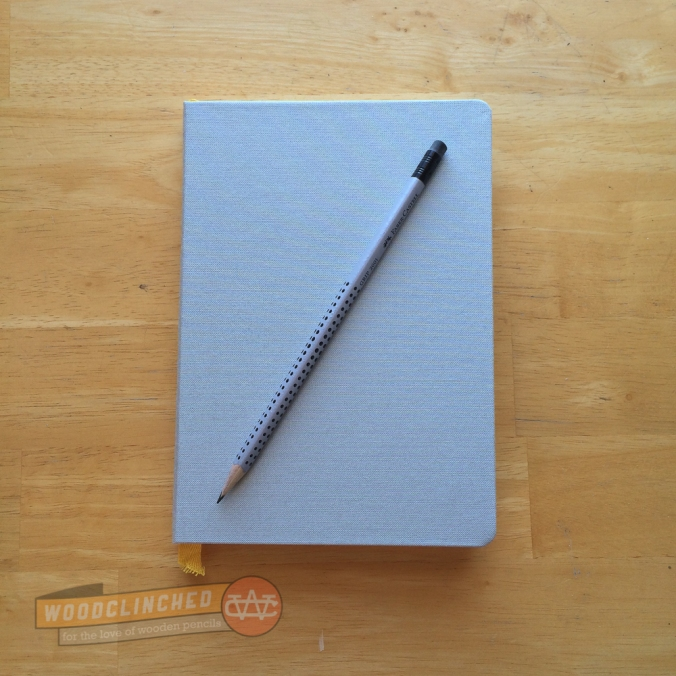 Baron Fig Notebook with Faber Castell Grip 2001 pencil