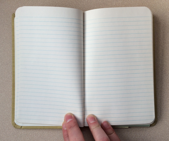 Boorum & Pease memo book lined paper