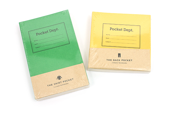 Pocket Department Notebooks