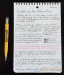 Rite in the Rain mechanical pencil test