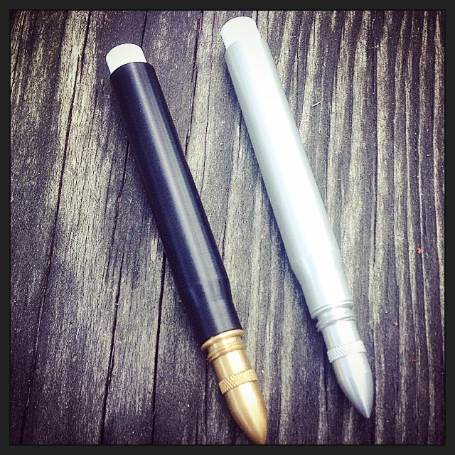 Twist Bullet Pencil in base colors and tip styles. Photo from @MetalShopCT on Instagram.