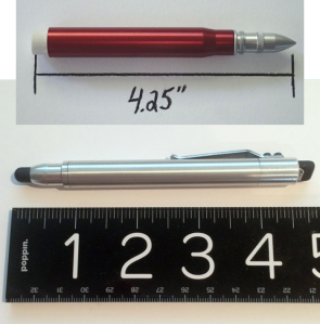 Bullet Pencil ST and Twist Bullet Pencil Comparison