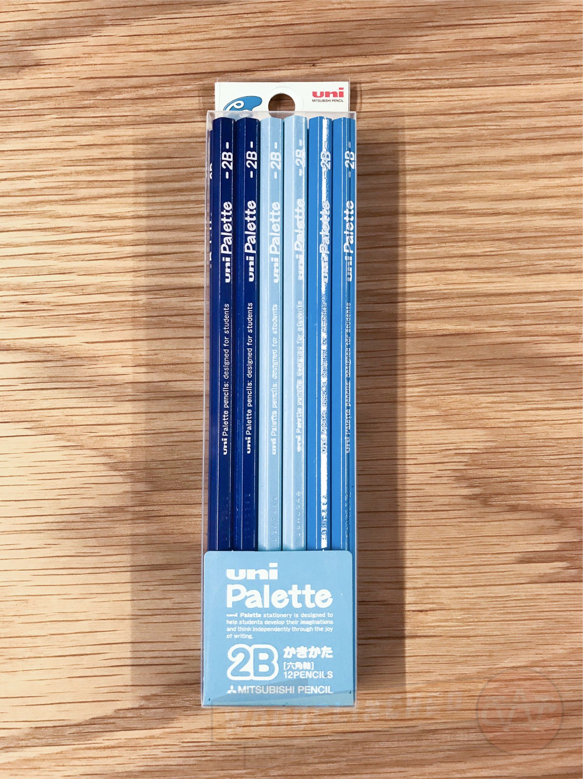 The Mitsubishi Uni Palette pencil