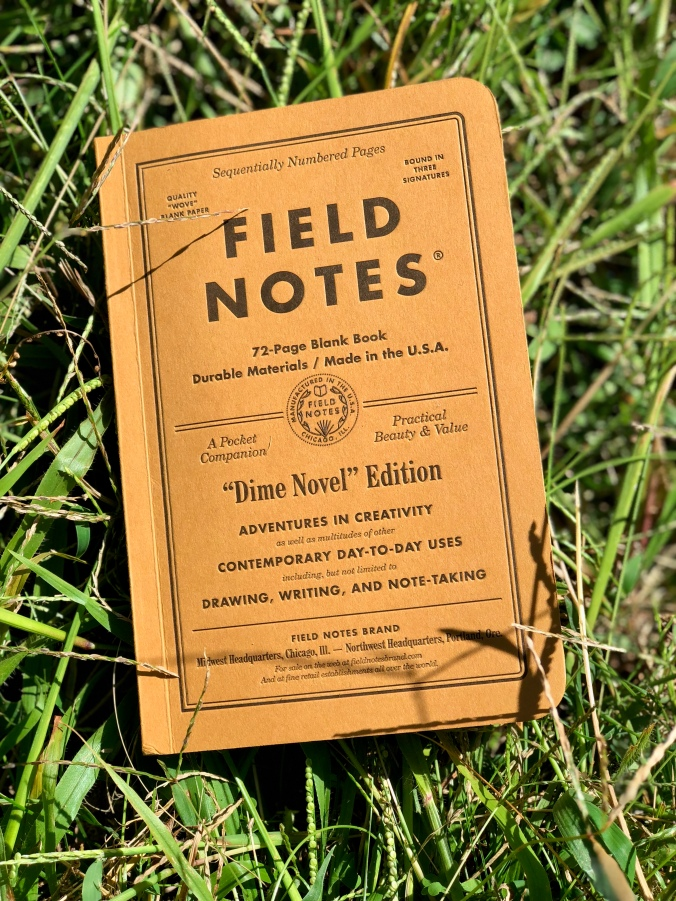 Field Notes Dime Novel. Photo by Harry C. Marks.