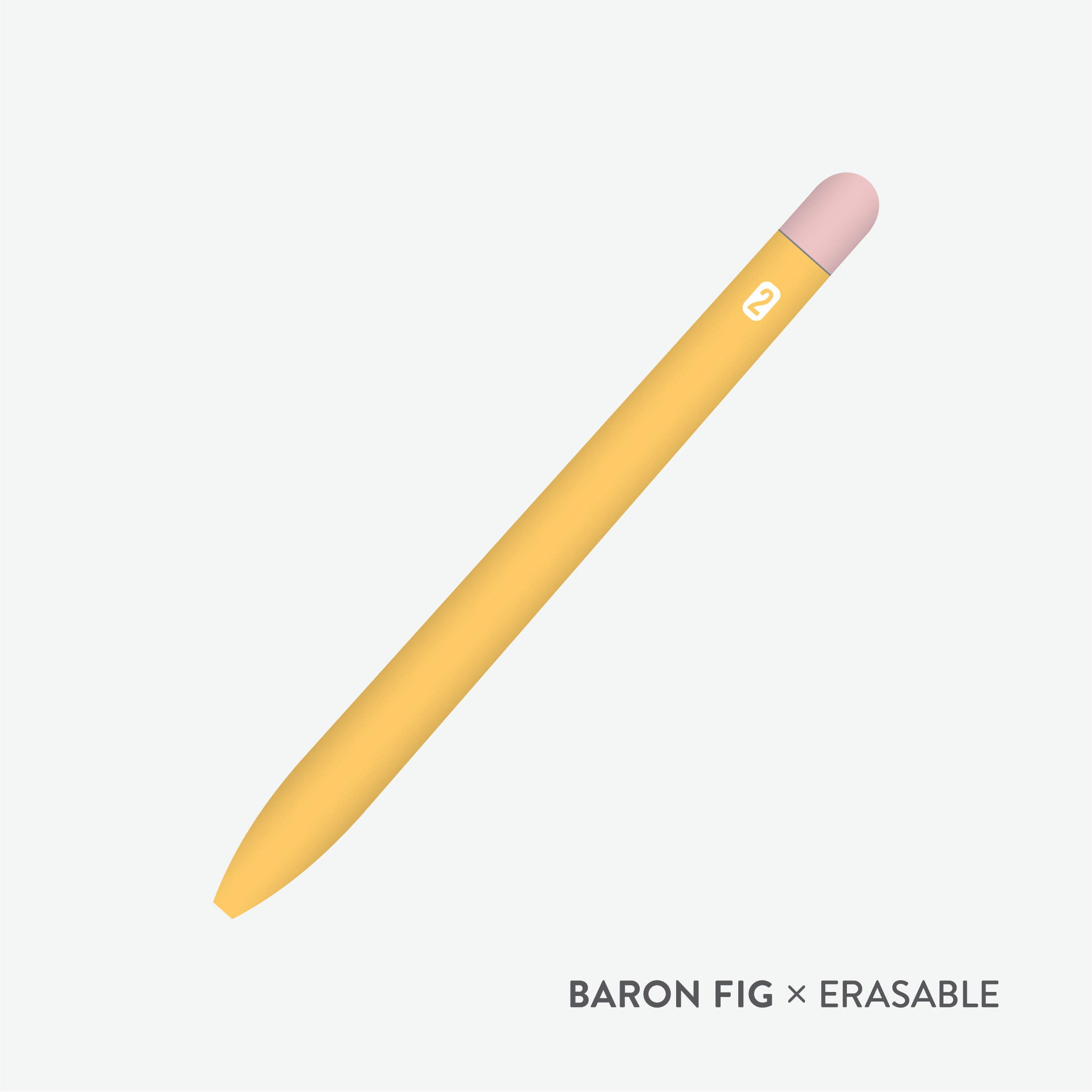 The Baron Fig X Erasable Number 2 Squire Pen